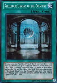 Spellbook Library of the Crescent [AP03-EN009] Super Rare | The Time Vault CA