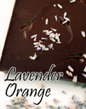 Decadence Chocolates - Dark Chocolate Lavender & Orange Bar