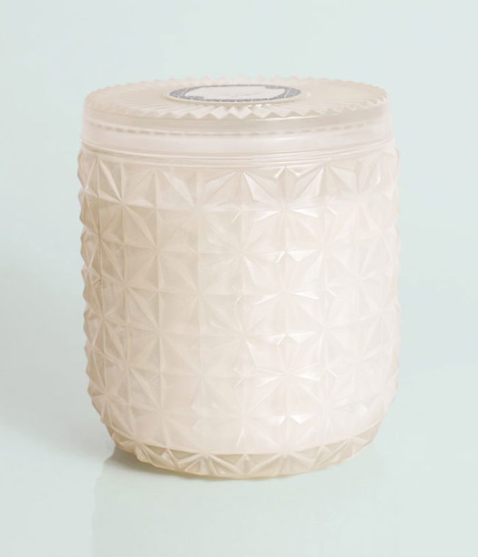Faceted Jar Candle