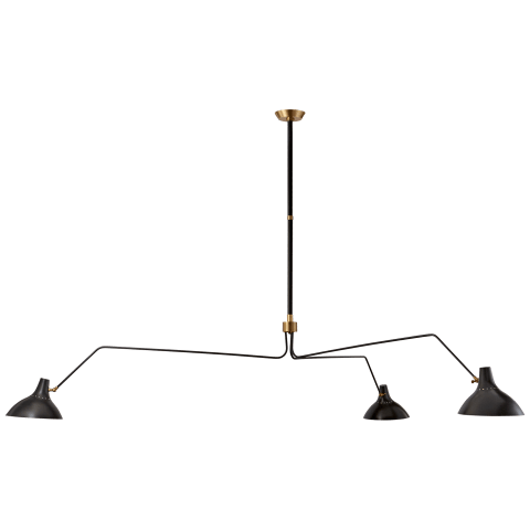 Charlton Triple Arm Chandelier