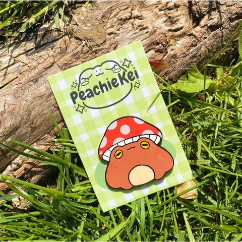 Toadstool Hard Enamel Pin