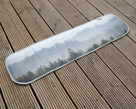 Campervan Universal Bonded Vent Window Blind Cover - Misty Forest
