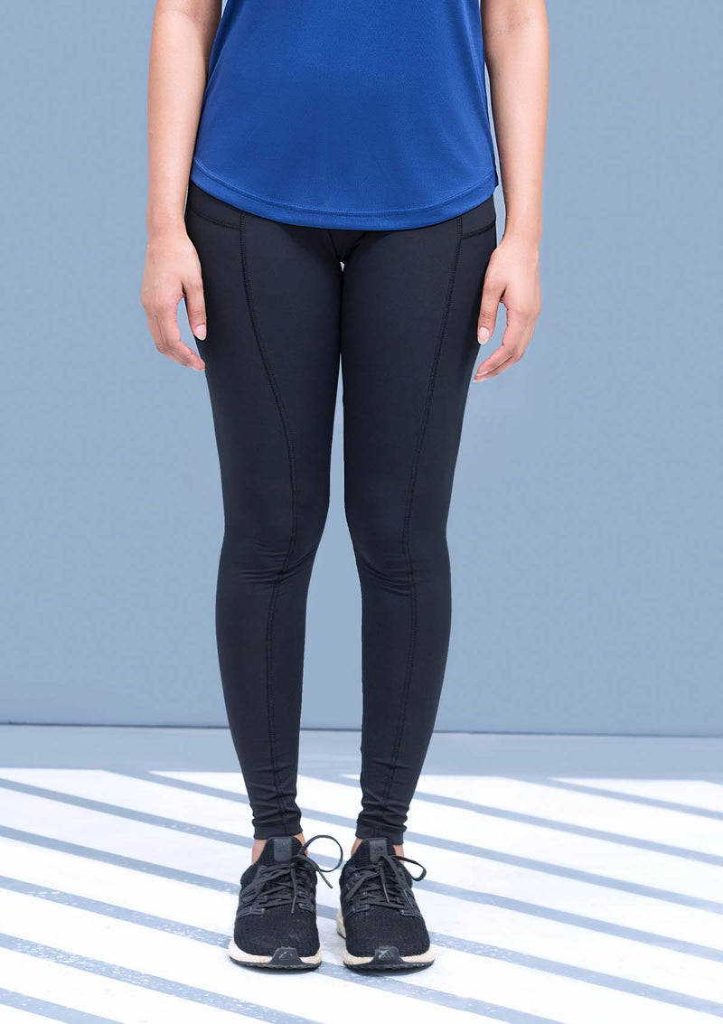 HIGH WAISTED LEGGINGS - BLACK