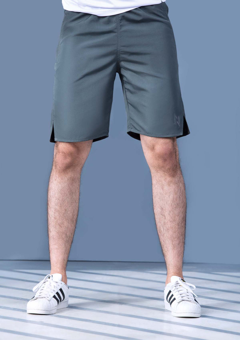 TRAINING SHORTS WOVEN - GRAPHITE