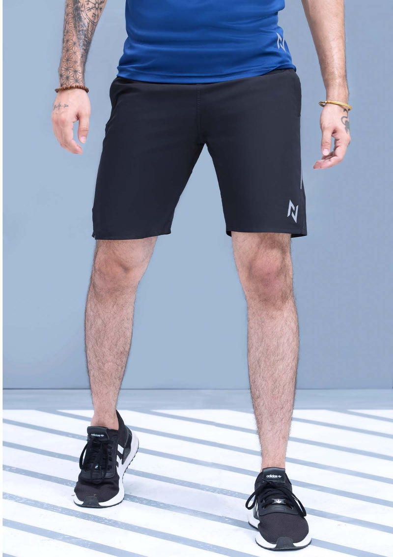 TRAINING SHORTS WOVEN - BLACK