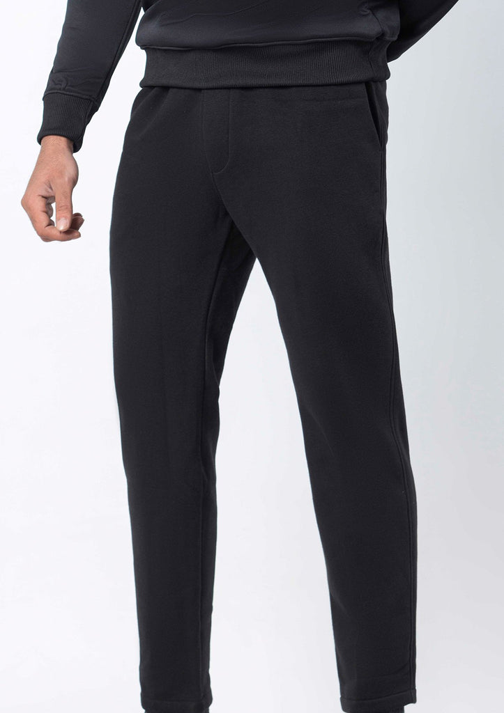BLACK WATER REPELLENT TROUSER