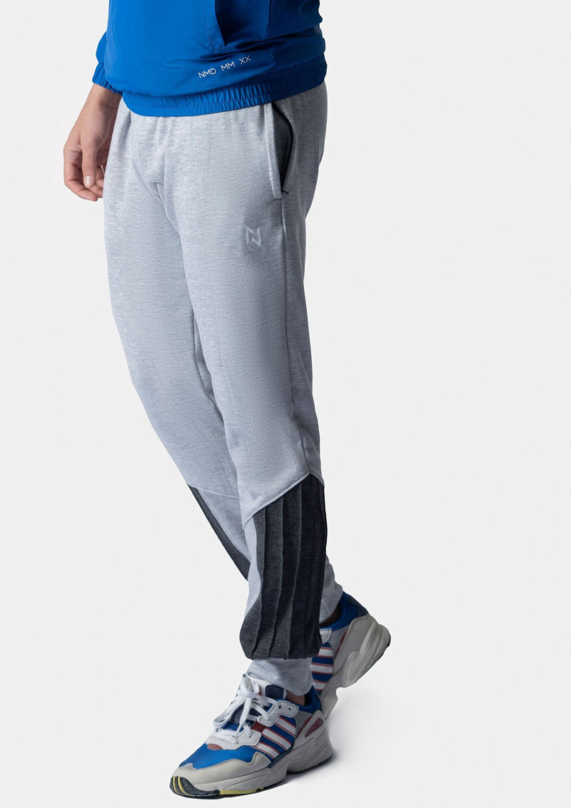 HEATHER GREY FRECH TERRY TROUSERS