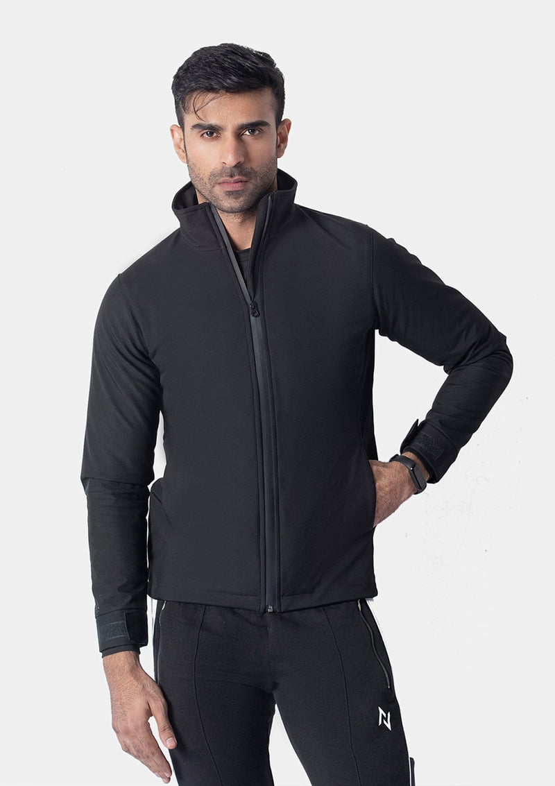 SOFTSHELL JACKET BLACK