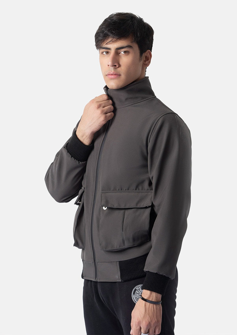 SOFTSHELL JACKET GREY