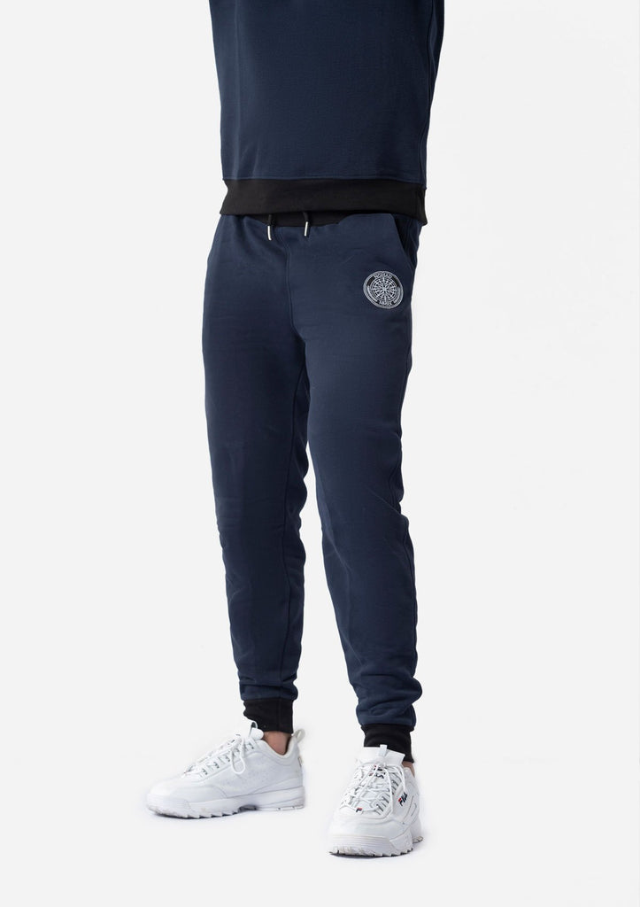 NAVY WATER REPELLENT TROUSERS