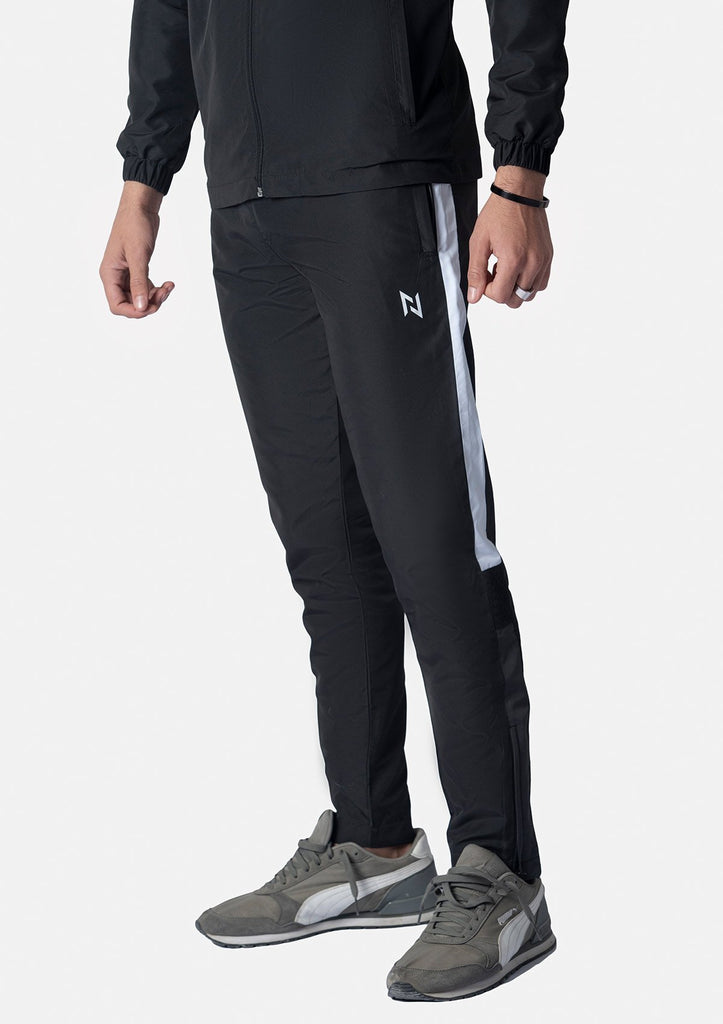 BLACK SUPERSOFT TRACKSUIT TROUSERS