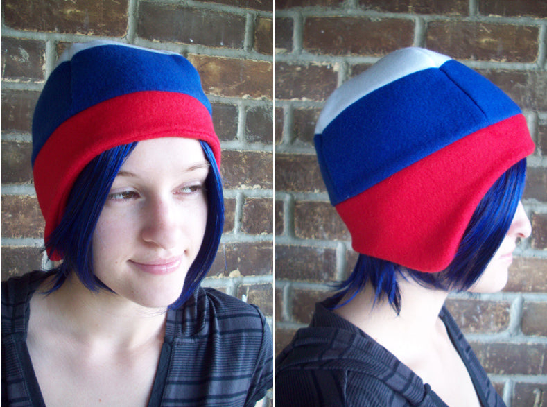 Russia Flag Fleece Hat