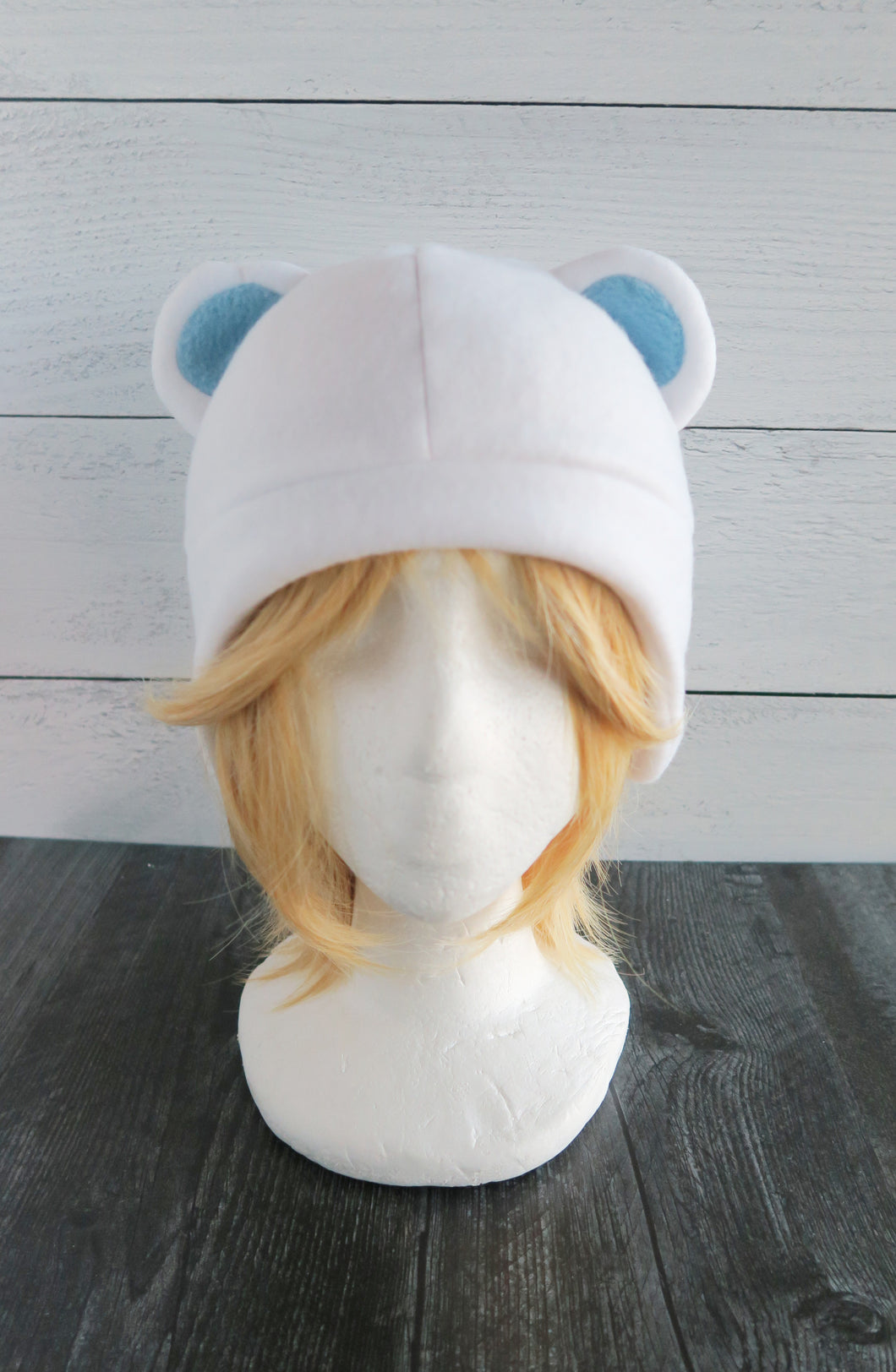 Polar Bear Fleece Hat