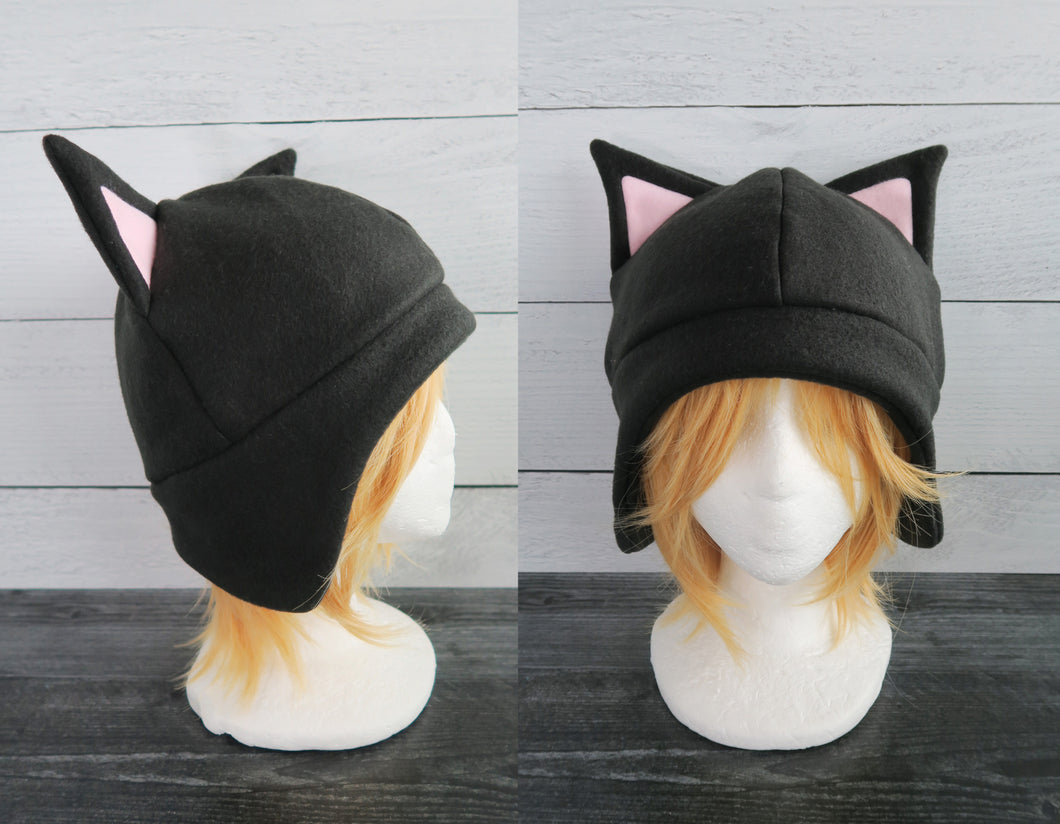 Cat Fleece Hat