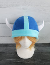 Load image into Gallery viewer, Custom Vikings Helmet Fleece Hat
