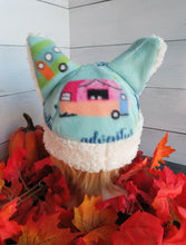 Load image into Gallery viewer, Camper Cat Fleece Hat - Sherpa Hat
