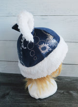 Load image into Gallery viewer, Celestial Cat  - Constellation Cat Fleece Hat - Sherpa Hat