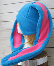 Load image into Gallery viewer, Long Eared Bunny Fleece Hat