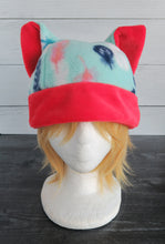 Load image into Gallery viewer, Feathers Cat Fleece Hat - Sherpa Hat