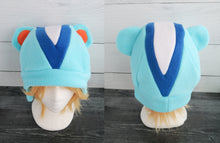 Load image into Gallery viewer, Peanut or Filbert Squirrel Animal Crossing Fleece Hat