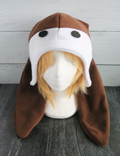 Load image into Gallery viewer, Genji Bunny Animal Crossing Fleece Hat
