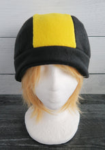 Load image into Gallery viewer, Gold and Silver Pokemon Trainer Fleece Hat