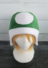 Load image into Gallery viewer, Mushroom and Toad Fleece Hat