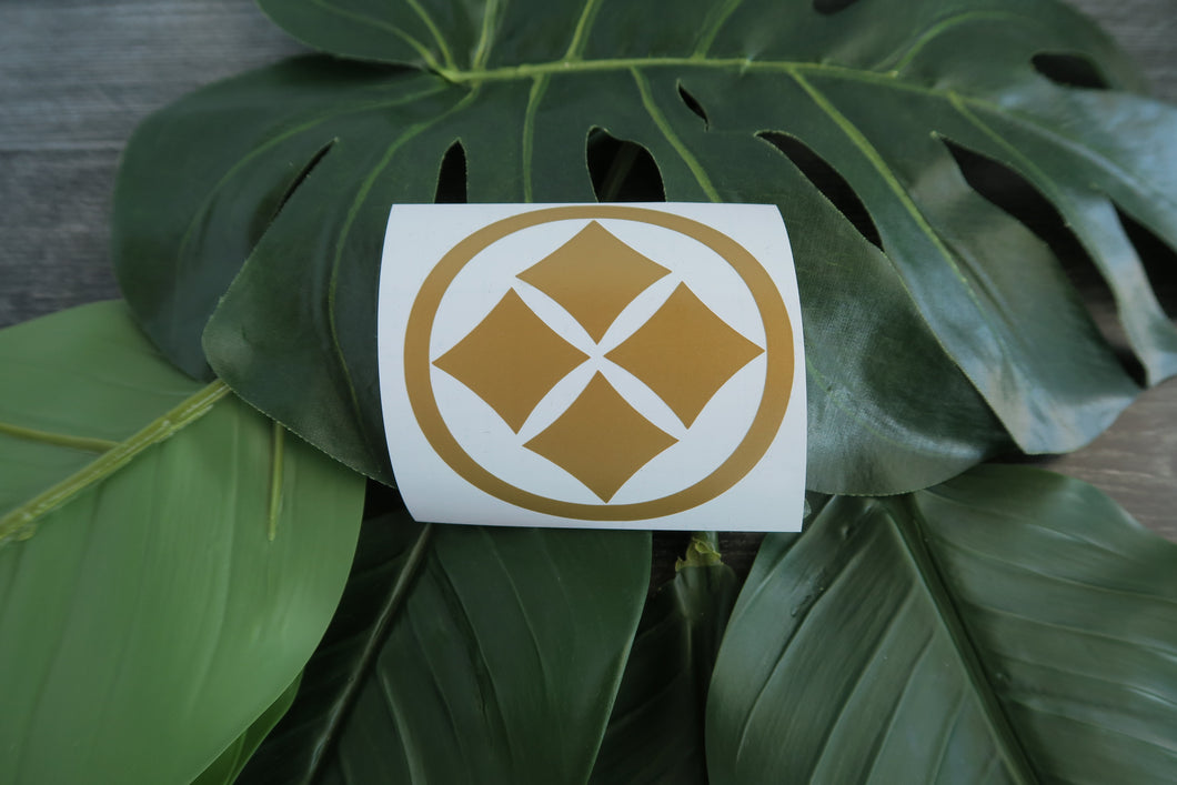 Ronin Warriors/Samurai Troopers Individual Armor Decal/Sticker