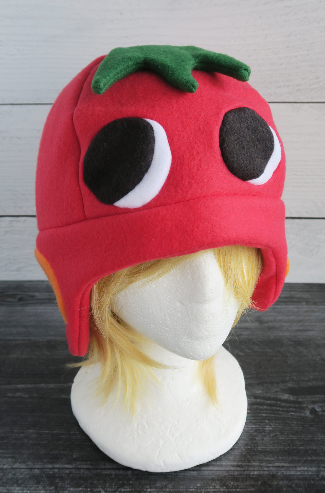 Ketchup the Duck Animal Crossing Fleece Hat