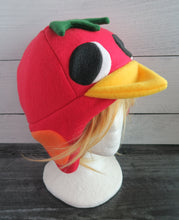 Load image into Gallery viewer, Ketchup the Duck Animal Crossing Fleece Hat