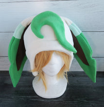 Load image into Gallery viewer, Leafeon Pokemon Fleece Hat