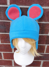 Load image into Gallery viewer, Azurill - Marill - Azumarill Pokemon Fleece Hat