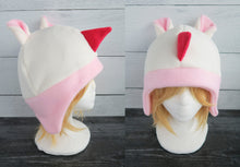 Load image into Gallery viewer, Merengue the Rino Animal Crossing Fleece Hat