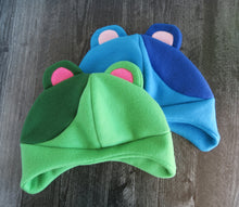 Load image into Gallery viewer, Murphy Bear or Kody Bear Animal Crossing Fleece Hat