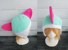 Load image into Gallery viewer, Ralts Pokemon Fleece Hat