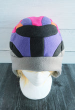 Load image into Gallery viewer, Colorful Space Helmet Fleece Hat