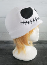 Load image into Gallery viewer, Smiling Skull Fleece Hat