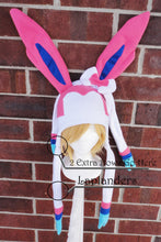 Load image into Gallery viewer, Sylveon and Shiny Sylveon Pokemon Fleece Hat