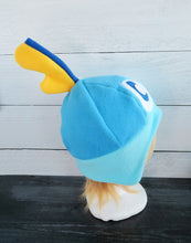 Load image into Gallery viewer, Sobble and Shiny Sobble Hat - Sword and Shield Pokemon Fleece Hat