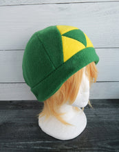 Load image into Gallery viewer, Triforce Zelda Fleece Hat