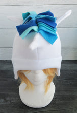 Load image into Gallery viewer, Blue Unicorn Fleece Hat
