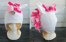 Load image into Gallery viewer, Pink Unicorn Fleece Hat