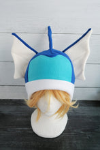 Load image into Gallery viewer, Vaporeon Pokemon Fleece Hat