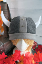 Load image into Gallery viewer, Vikings Helmet Fleece Hat