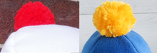 Load image into Gallery viewer, Custom PomPom Fleece Hat