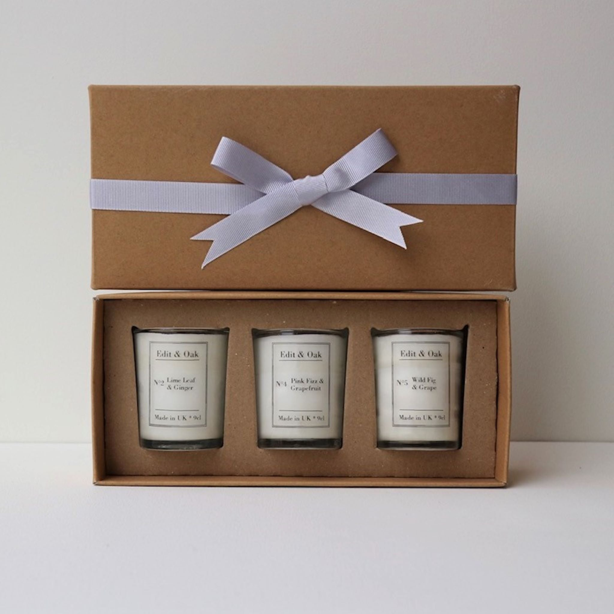 Mixed Scent Edit & Oak Candle Gift Box