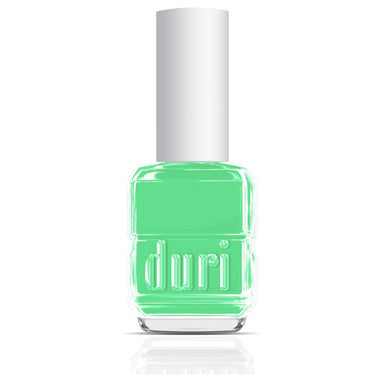 101s Summer Rain by Duri Cosmetics. Pastel mint nail polish color.