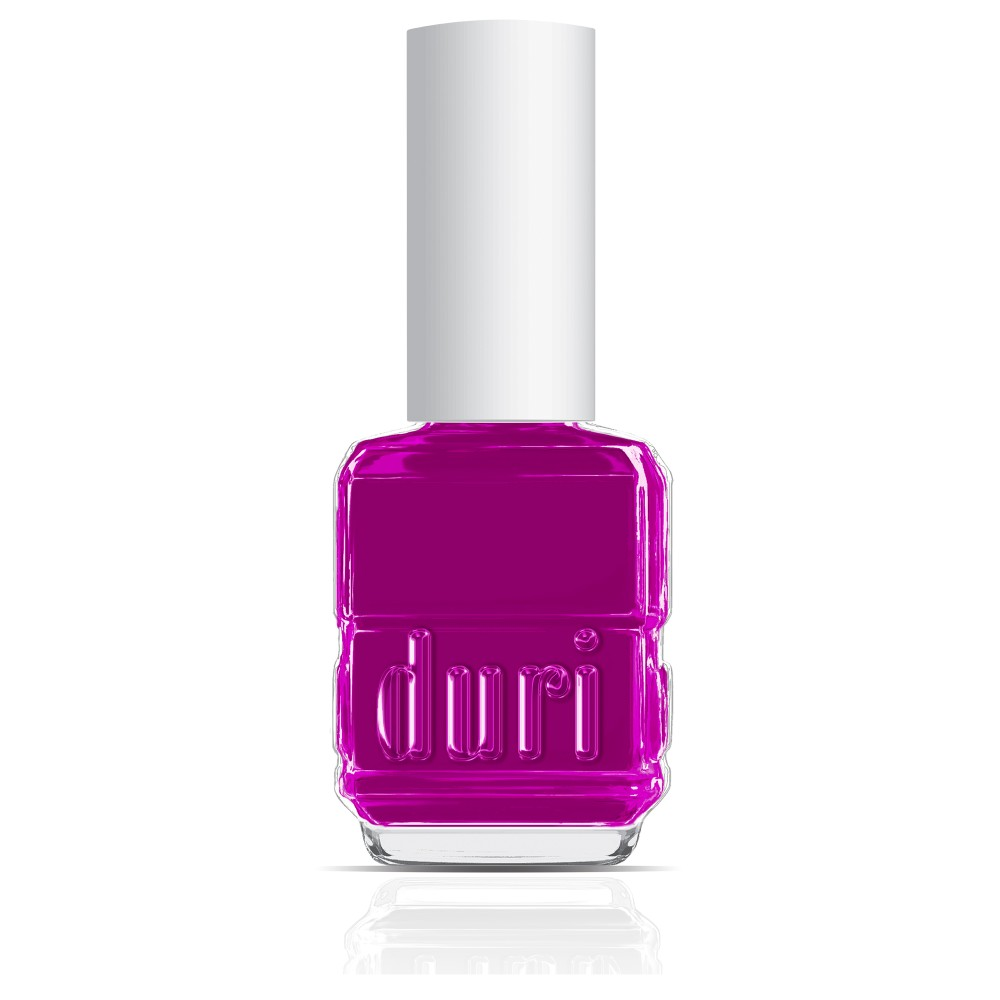 156N Sting by duri cosmetics. Neon purple nail polish. Dries matte.