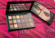 Brand new Huda beauty eyeshadow palette Rose Gold Dessert Dusk Nude