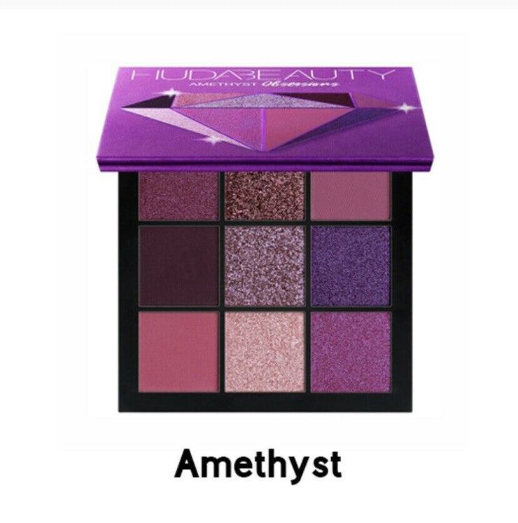 huda beauty eyeshadow Amethysts Obsession Pallet 100% Genuine Brand New.